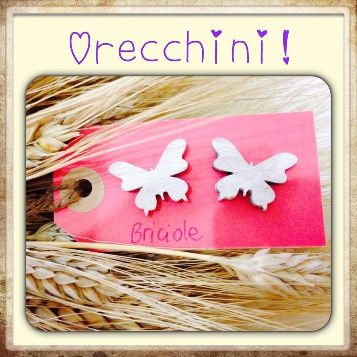 Farfalle in legno, by Briciole, 5,00 € su misshobby.com