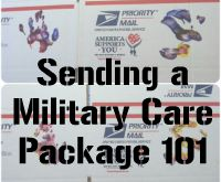 Military Care Package 101...should be on every to do list.