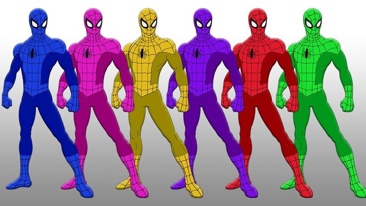 Spiderman's Colorful Suit - Learn Colors with Spiderman Body Suit & Finger Family for Kids Children Spiderman's Colorful Suit - Learn Colors with Spiderman Body Suit & Finger Family for Kids Children https://youtu.be/Jf9mBRGpB5Q  Finger Family Song Lyrics : Daddy finger daddy finger where are you? Here I am here I am. How do you do? Mommy finger Mommy finger where are you? Here I am here I am. How do you do? Brother finger Brother finger where are you? Here I am here I am. How do you do?…