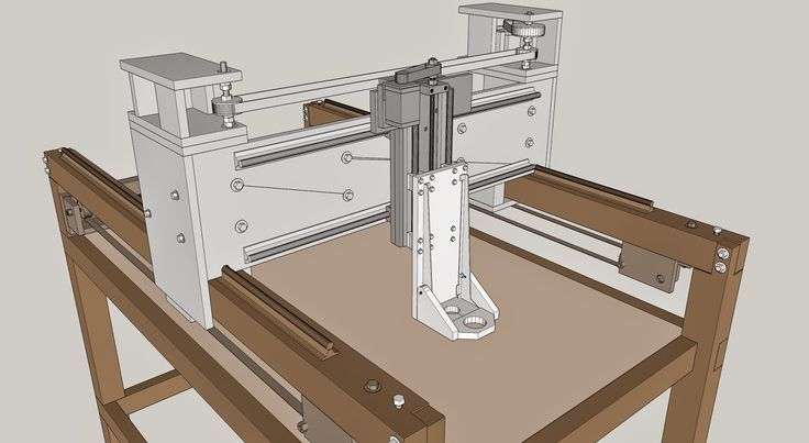 DIY - Fasi di realizzazione di una cnc 2x1 mt per fresare legno. Pantografo, router cnc autocostruito