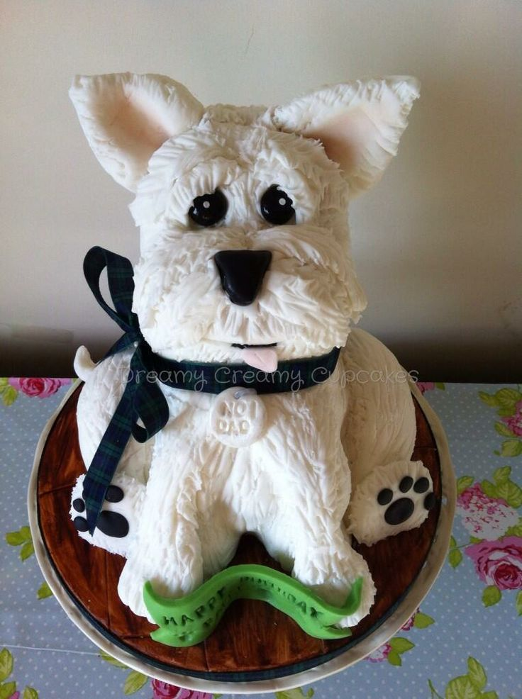 Scottie Dog Cake Decorations : 1000+ images about Westie Cake on Pinterest