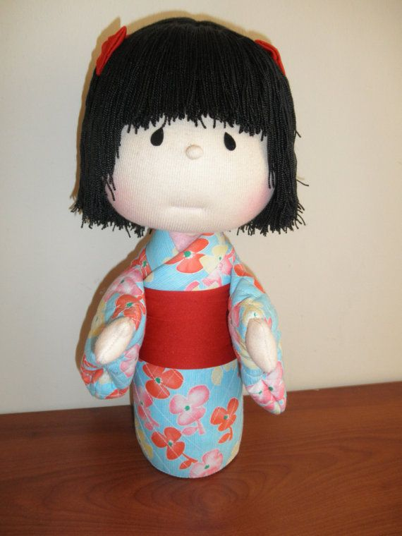 Handmade doll fabric Kyoko Yoneyama