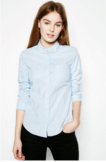 Classic Spring Shirt, pair with blue jeans, a silk scarf, sunnies and white cons or beige brogues Haguard Oxford Shirt from Jack Wills £49.50