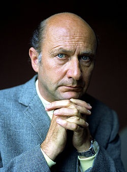 Donald Pleasence (1919–1995) was a British film, television and stage actor best known for his roles in You Only Live Twice, where he played James Bond's arch-enemy Dr Blofeld, and The Great Escape, where he drew upon his experience in a German POW camp.