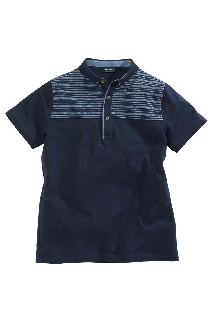 Buy Navy Jacquard Polo (3-16yrs) from the Next UK online shop