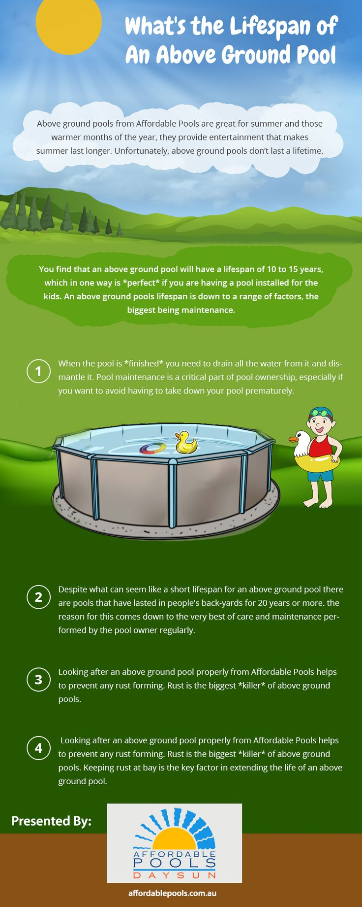 Go Through This Infographic To Know The Details Related To The Maintenance  Of The Pools. #swimmingpool #bestpools
