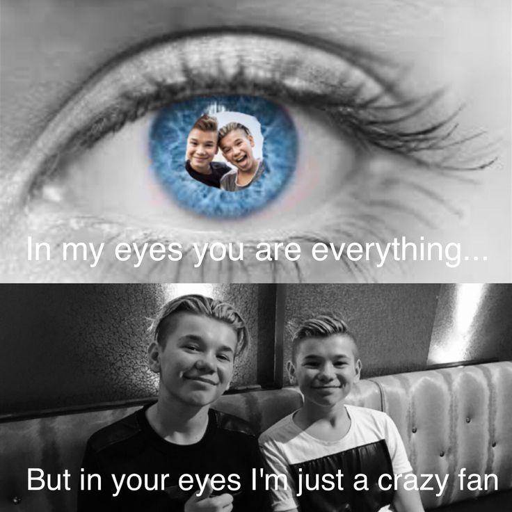 I'm just a crazy fan...