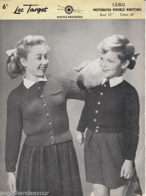 The 162 best images about Vintage Knitted Childrens wear on Pinterest ...