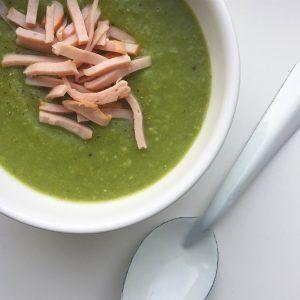 Healthy groen soepje!