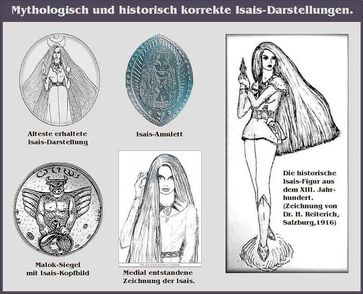 Mythologic and Historic Correct Isais Representations ...