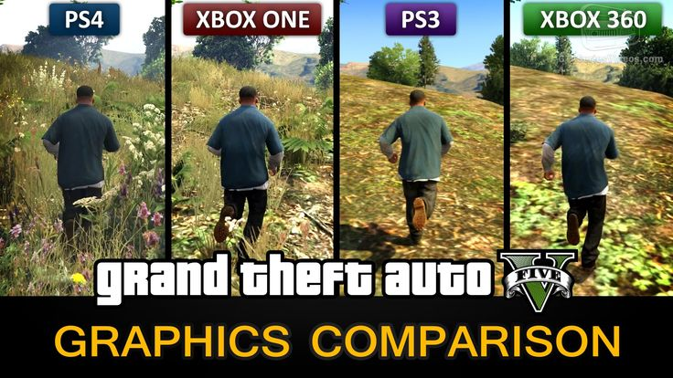 Awesome: Grand Theft Auto V Graphics Comparison | Xbox one ...
