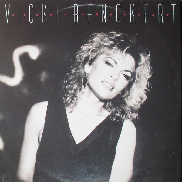Vicki Benckert, swedish pop singer, 1986