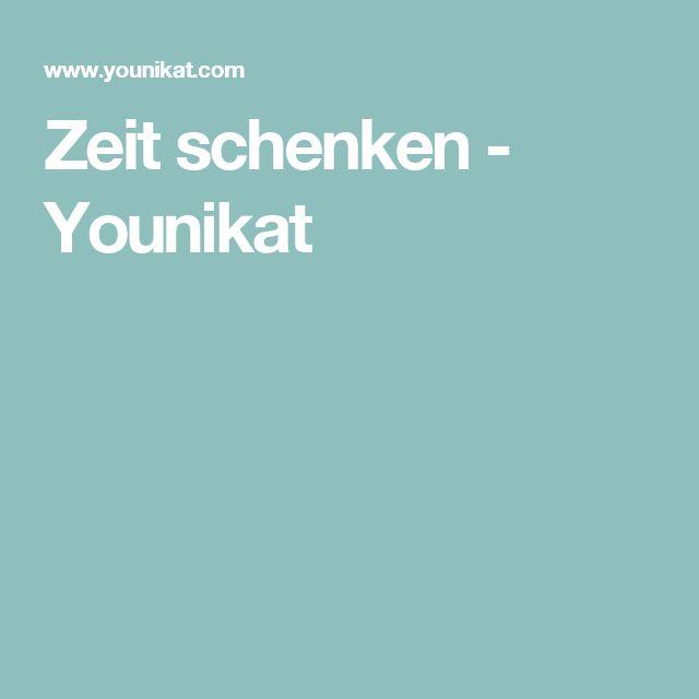 Zeit schenken - Younikat