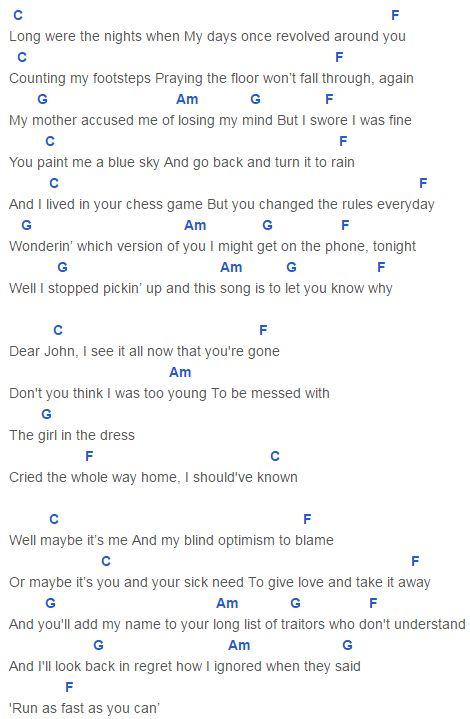Fantastic When You Re Gone Guitar Chords Inspiration - Beginner ...