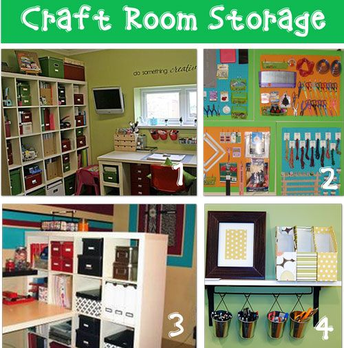 12 craft room storage ideas with before/after pics