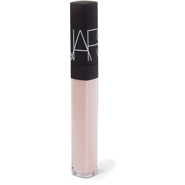 Nars Lip Gloss in Guyane ($29) ❤ liked on Polyvore featuring beauty products, makeup, lip makeup, lip gloss, shiny lip gloss, lip shine, pink lips makeup and pink lipgloss