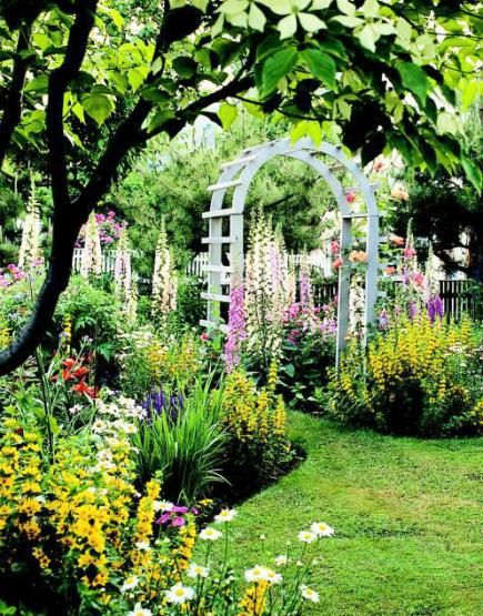 Create a knockout yard with these simple strategies. Think way ahead  It's sunny now, but will it be in a few years? Once the trellis is built, the garden shed goes up and the trees get big, will you still have sunshine where you want it? That sunny wildflower patch you envision by the fence won't work if you plant trees there now. You can move some plants later, but your basic layout should incorporate changing shade patterns.