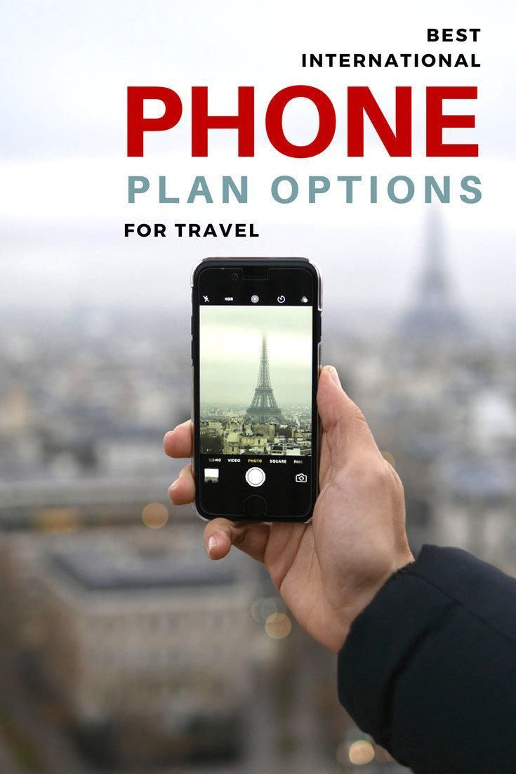 Best International Phone Plan Options for Travel: 5 options for staying connected through your mobile devices when you travel.