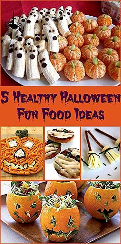 fingerfood halloween delicious healthy snacks adults