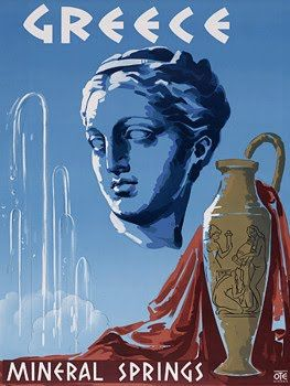 vintage greece travel posters - Google Search
