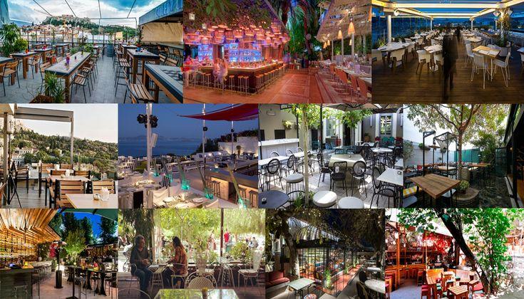 Ποια είναι τα πιο δροσερά μπαρ στο κέντρο της Αθήνας; Που προς τα που θα κινηθούμε όταν ανεβαίνει ο υδράργυρος; Πως θα αποδράσουμε από τη δροσερή «φυλακή» των κλιματιστικών;