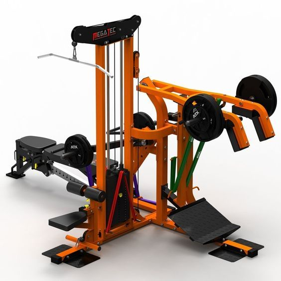 Unique Home Gym Leverage System