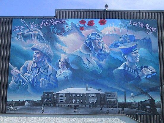 Winnipeg, Canada has more than 500 murals!