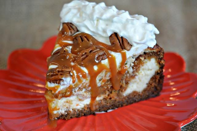 Hugs & CookiesXOXO: CHEESECAKE FACTORY COPYCAT...CARROT CAKE CHEESECAKE!!!