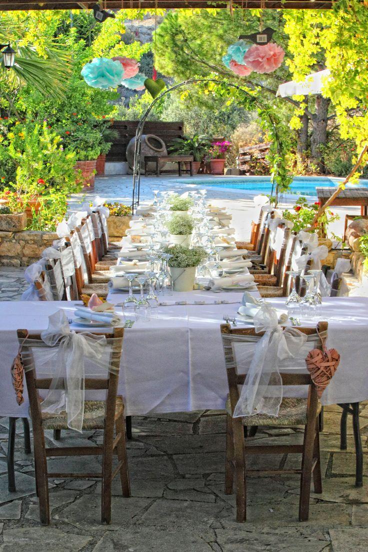 a beautiful rustic wedding venue in Paphos
