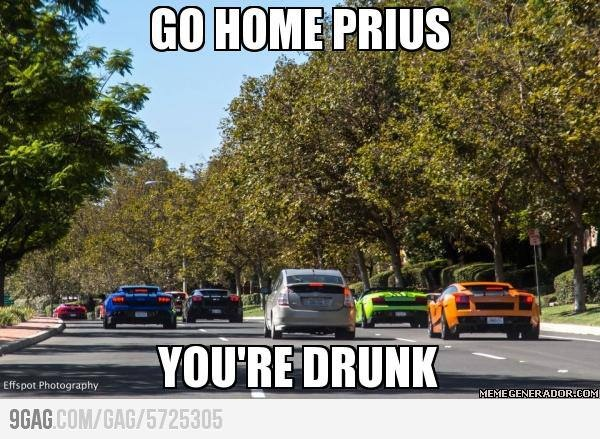 7d30298a5ef0a14b19cc453a80aae712 drunk memes funny memes 29 best prius jokes images on pinterest funny stuff, car memes,Prius Memes