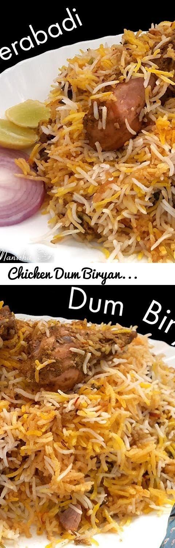 Chicken Dum Biryani-Hyderabadi Chicken Biryani recipe-चिकन बिरयानी-Chicken Biryani Restaurant Style... Tags: Chicken Dum Biryani, Hyderabadi Chicken Dum Biryani recipe, चिकन बिरयानी, Chicken Biryani Restaurant Style, हैदराबादी बिरयानी, how to make chicken dum biryani, chicken dum biryani recipe in hindi, Dum biryani Restaurent style, authentic chicken dum biryani, how to cook perfect chicken dum biryani, chicken dum biryani recipe for begginers, Hyderabadi chicken Biryani video recipe…