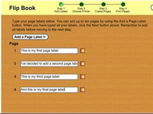 Free template for creating flip books. Fun on their own or as part of designing a lap book.