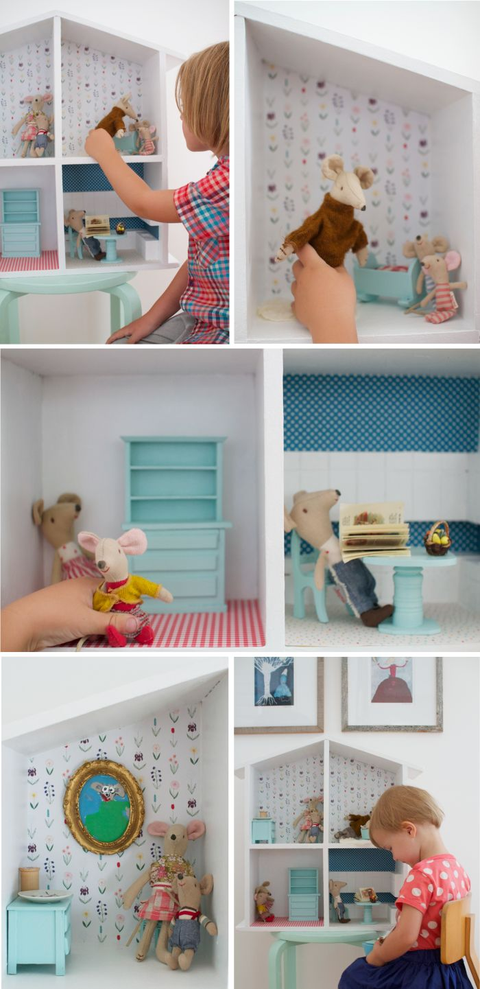 die besten 25 miniaturm bel ideen auf pinterest barbie. Black Bedroom Furniture Sets. Home Design Ideas