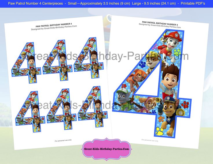 283 Best Paw Patrol Party Images On Pinterest