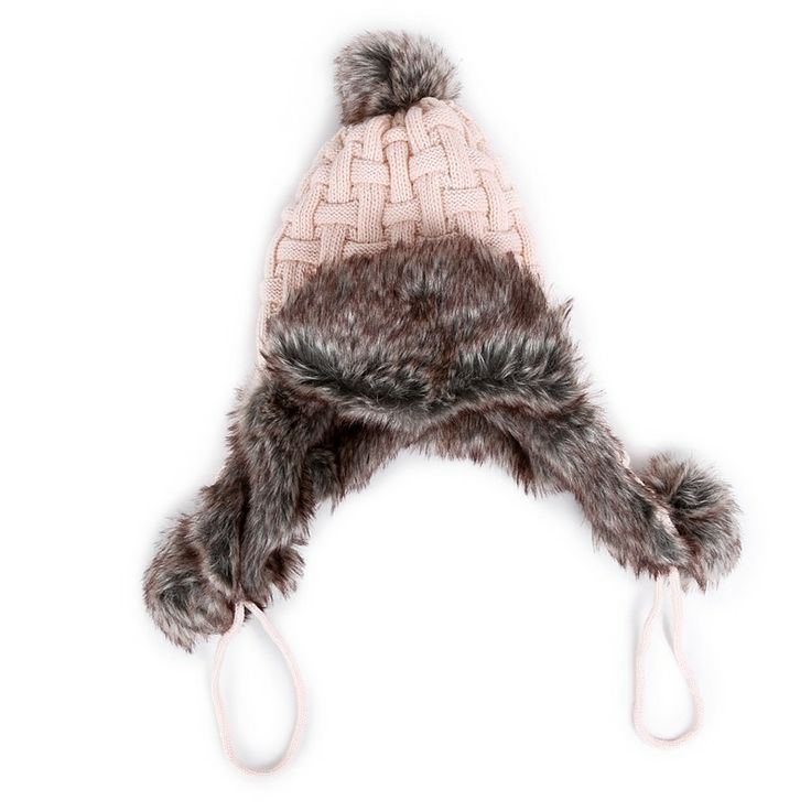 Autumn/Winter 2014 | FULLAHSUGAH CHECK KNIT FUR LINED BEANIE | €17.90 | 4404101714 | http://fullahsugah.gr