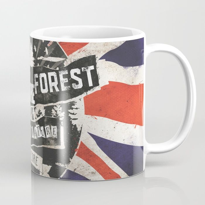 God save the forest Mug by HappyMelvin | Society6