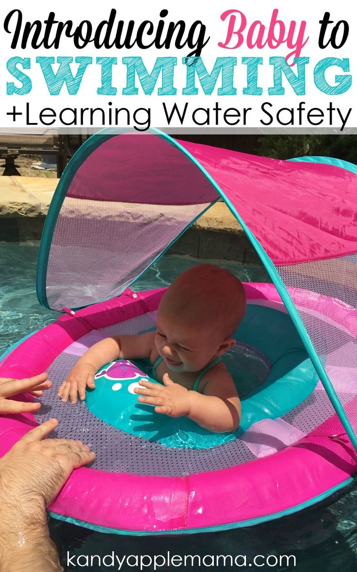 Introducing Baby to Swimming + Learning Water Safety