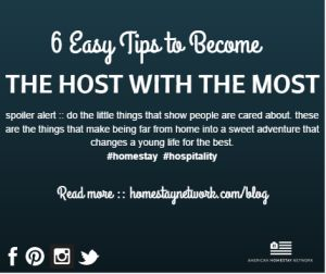 6 tips host with most