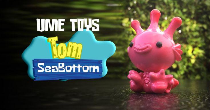 """That's not SpongeBob SquarePants, it's UME Toys's """"Tom SeaBottom""""! #DesignerToyArtToy #LimitedEdition #Resin #TrustPigs"""