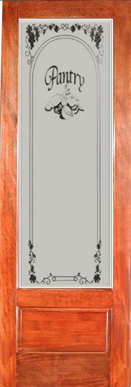 Pocket Doors With Glass Inserts Glass Pantry Door