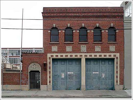 Abandoned Fire Station Near Rockwood A Planned Settlement