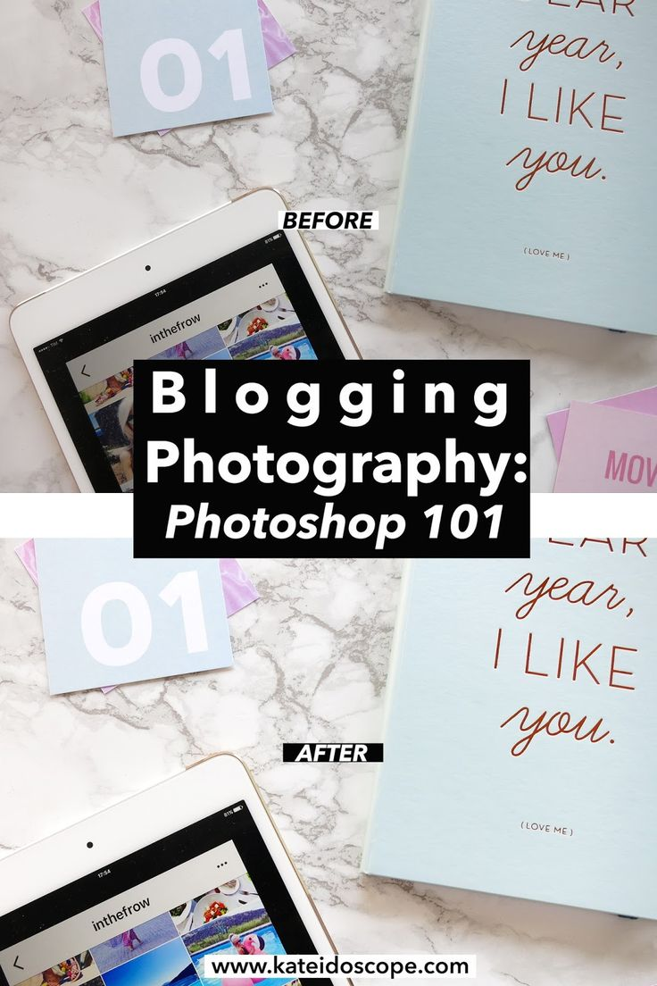 BLOG | Blogging Photography: Photoshop 101