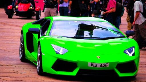 Lime Green Lamborghini Exotic Cars Motorcycles Trucks