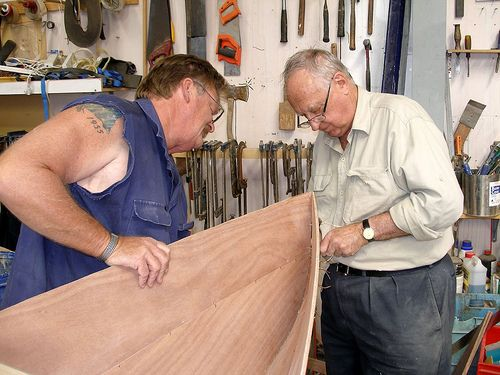 Slideshow of building Method for the Eureka Stitch and Glue Plywood Canoe | Boat Building ...