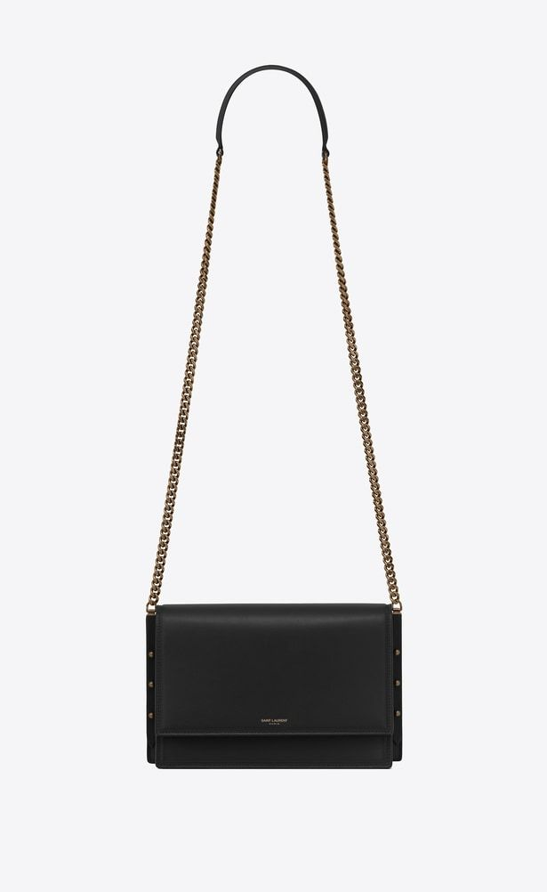 449ff6a7f9 SAINT LAURENT Babylone Small Woman ZOE bag in black leather a_V4 ...