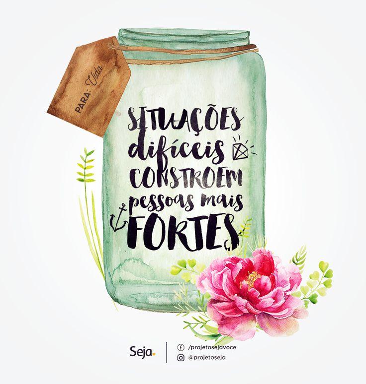Um recadinho para a vida! projetoseja♥: https://www.facebook.com/projetosejavoce/ https://instagram.com/projetoseja/