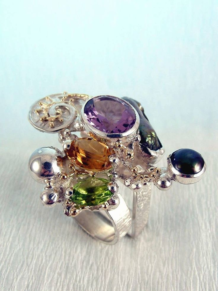 RT or Repin this Unique High Standard Handcrafted Jewellery Now and visit our Website, Gregory Pyra Piro One of a Kind Original #Handmade #Sterling #Silver and #Gold, Jewellery in #London, #Art Jewellery, #Jewellery Handcrafted by #Artist, #Ring 1565