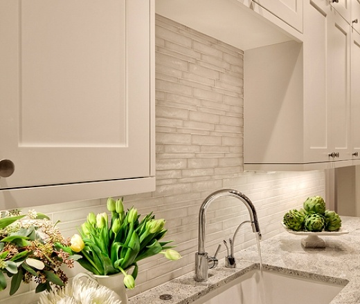 Contemporary Island Style Grey Kitchen White Cabinets Carrie King Shuffle Interiors Seattle
