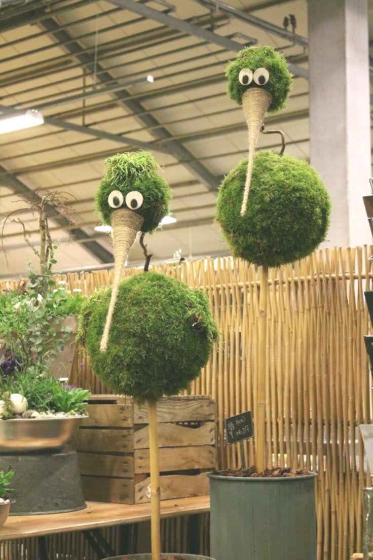 Mos figuuren Gartendekoration