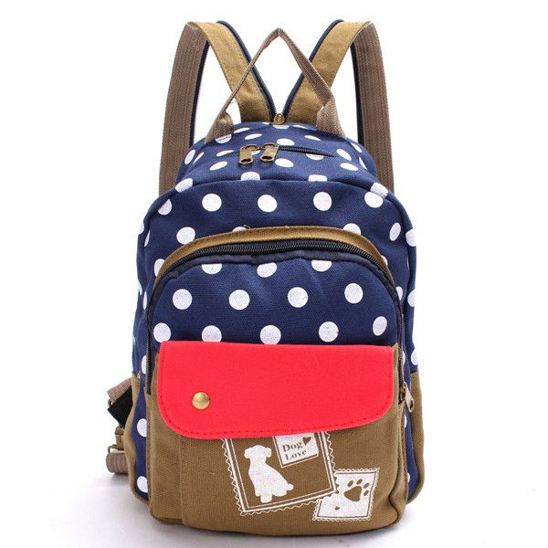 Description: Material Canvas Color Blue,Black Weight 287g Length 22cm(8.7') Height 29.5cm(11.6') Width 7cm(2.8') Inner Pocket 2Small Pocket Closure Zipper Package include: 1*1Bag Product Show: Color S